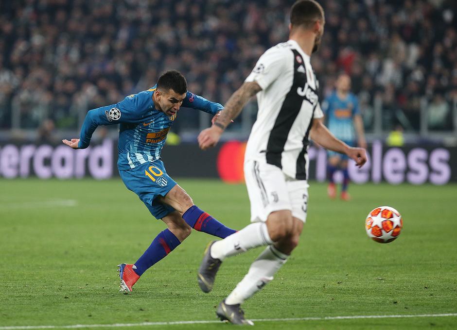 Temporada 18/19   Juventus - Atlético de Madrid   Correa