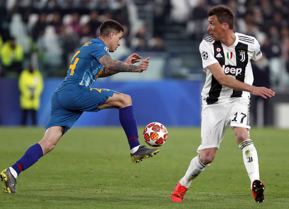 Temporada 18/19   Juventus - Atlético de Madrid  