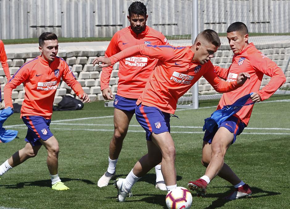 Temporada 18/19 | Entrenamiento del primer equipo | 13/03/2019 | Montero
