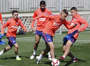 Temporada 18/19   Entrenamiento del primer equipo   13/03/2019   Montero