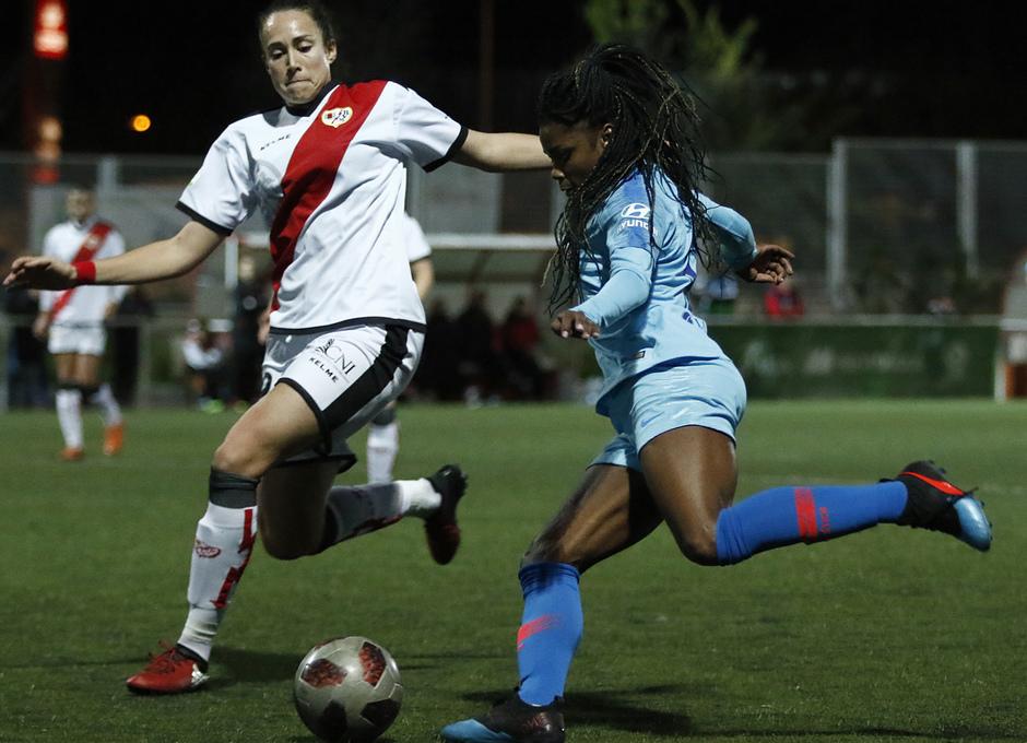 Temp. 18-19   Rayo Vallecano - Atlético de Madrid Femenino   Ludmila