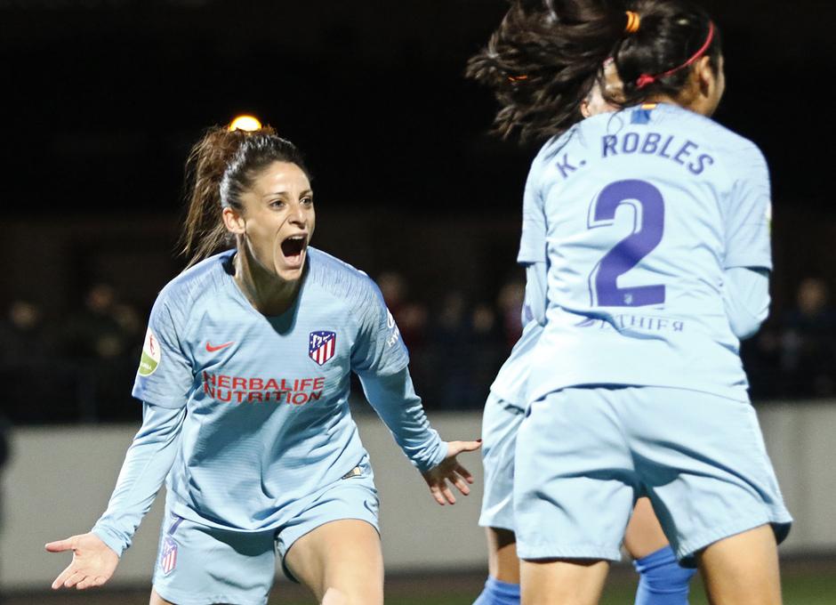 Temp. 18-19   Rayo Vallecano - Atlético de Madrid Femenino   Gol
