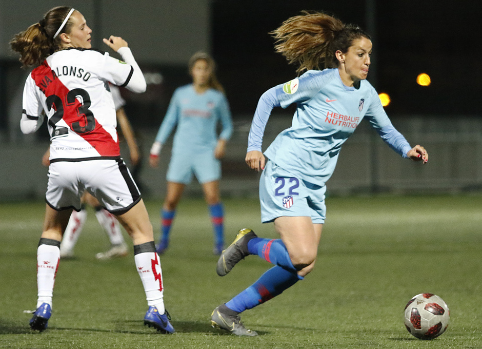 Temp. 18-19   Rayo Vallecano - Atlético de Madrid Femenino   Olga García