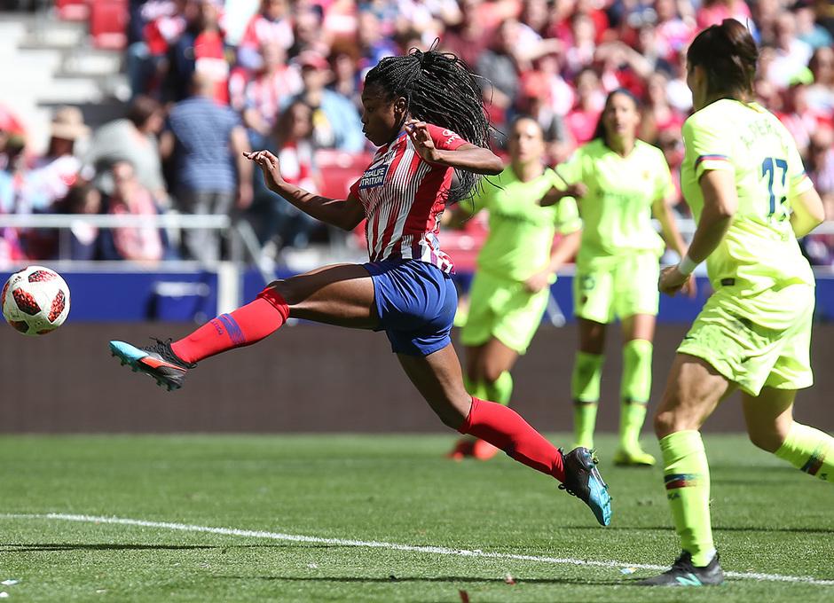 Temporada 18/19 | Atlético de Madrid Femenino - Barcelona | Ludmila