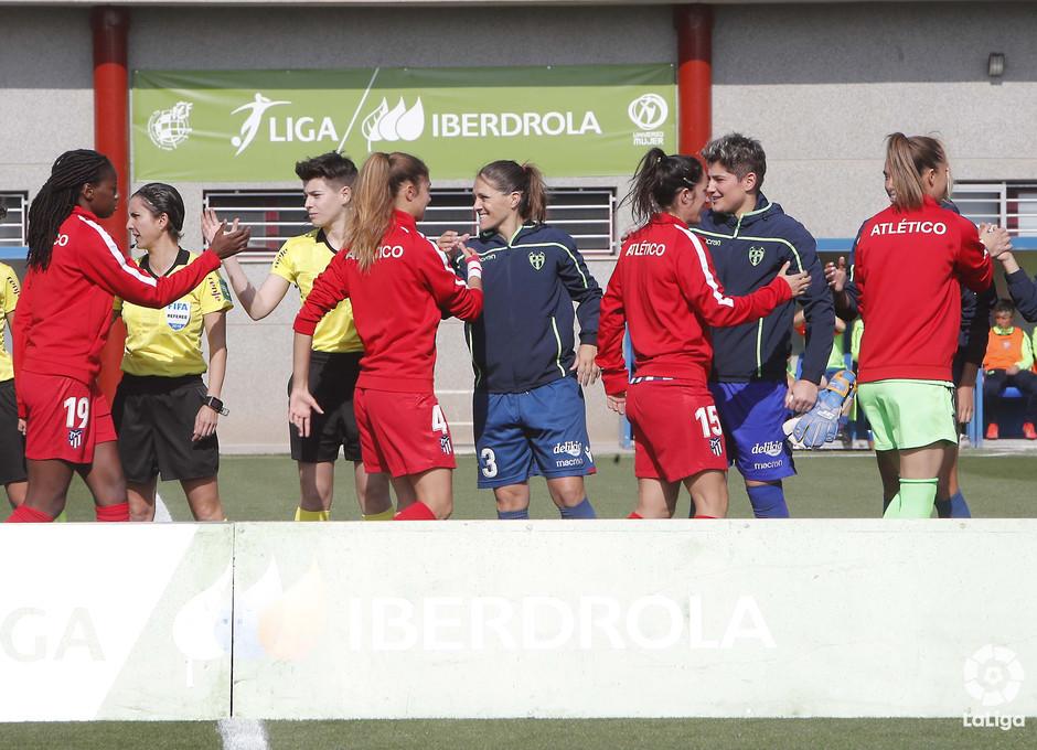Temporada 18/19 | Levante - Atlético de Madrid Femenino | Saludo inicial