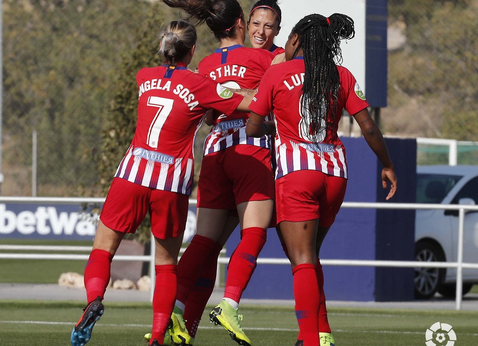 Temporada 18/19 | Levante - Atlético de Madrid Femenino | Gol