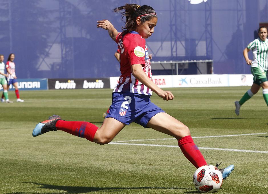 Temporada 18/19 | Atlético de Madrid Femenino - Real Betis | Kenti