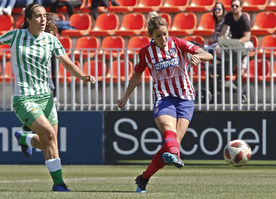 Temporada 18/19 | Atlético de Madrid Femenino - Real Betis | Ángela Sosa