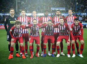 Temporada 18/19   Alavés - Atlético de Madrid   Once