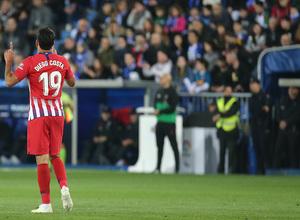 Temporada 18/19   Alavés - Atlético de Madrid   Celebración Costa