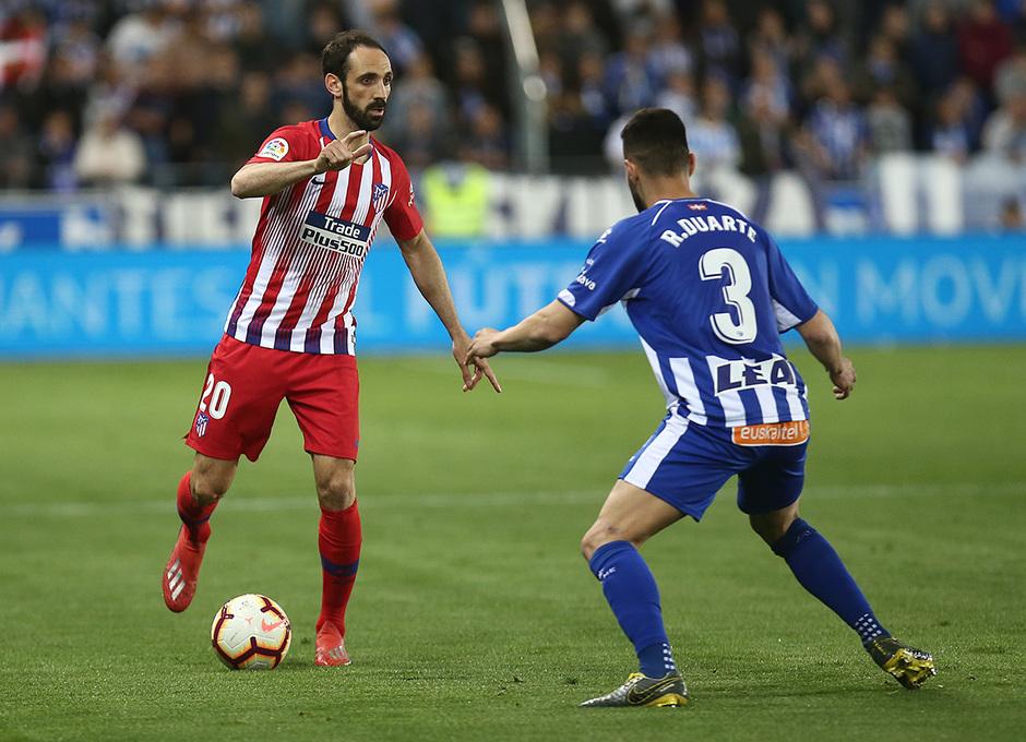 Temporada 18/19 | Alavés - Atlético de Madrid | Juanfran