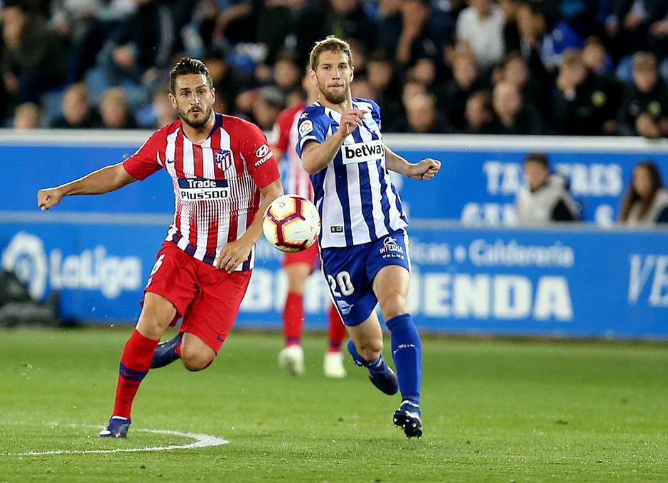 Temporada 18/19 | Alavés - Atlético de Madrid | Koke