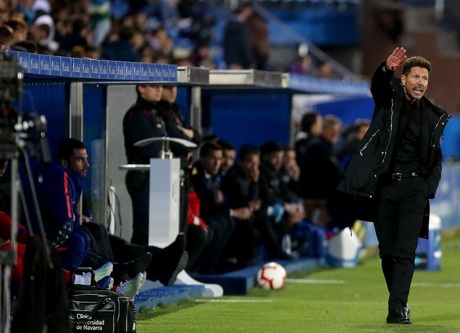 Temporada 18/19 | Alavés - Atlético de Madrid | Simeone