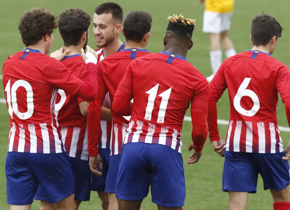 Temporada 18/19 | Atlético de Madrid - UD Santa Marta | Gol