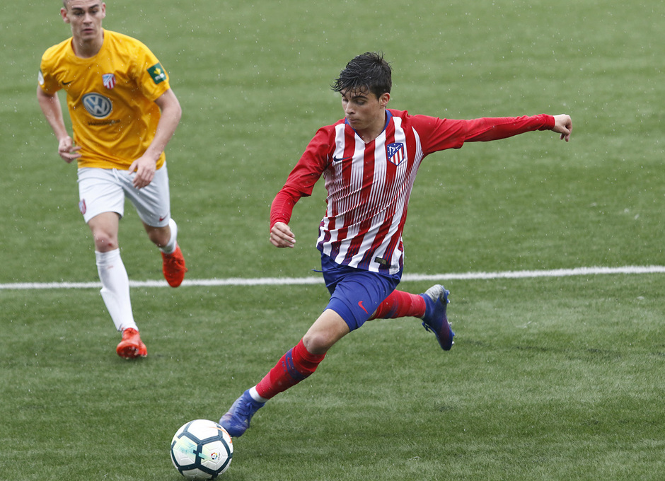 Temporada 18/19   Atlético de Madrid - UD Santa Marta   Ferreras