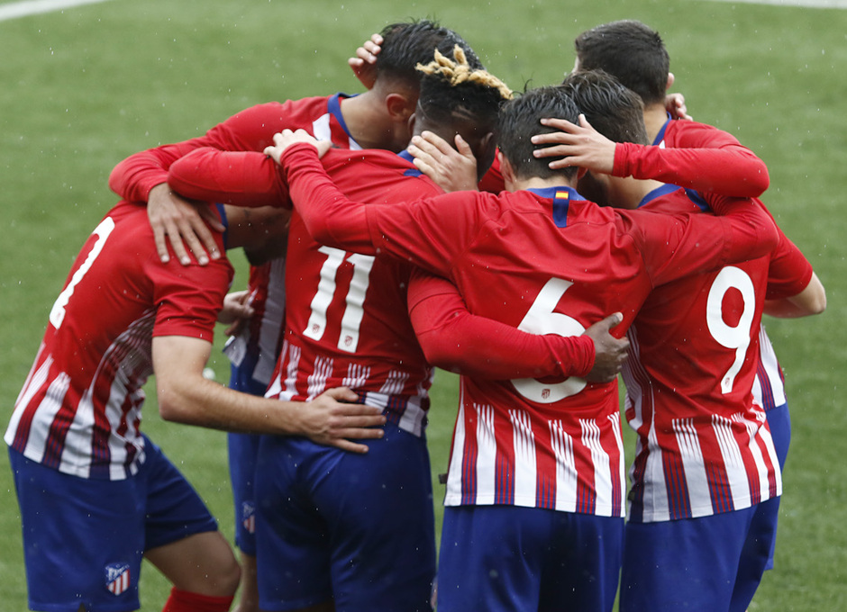 Temporada 18/19   Atlético de Madrid - UD Santa Marta   Gol