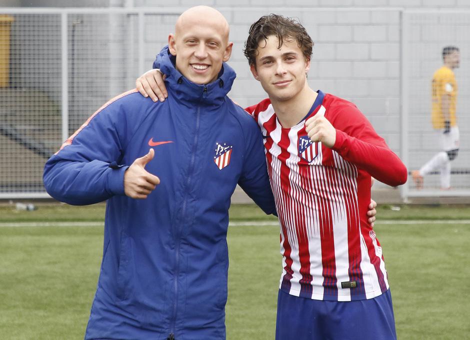 Temporada 18/19   Atlético de Madrid - UD Santa Marta   Mollejo
