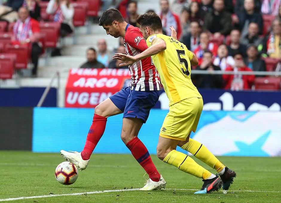 Temporada 18/19 | Atlético de Madrid - Girona | Morata