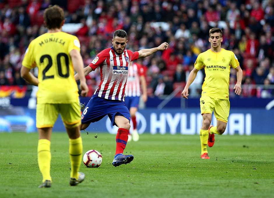 Temporada 18/19 | Atlético de Madrid - Girona | Koke