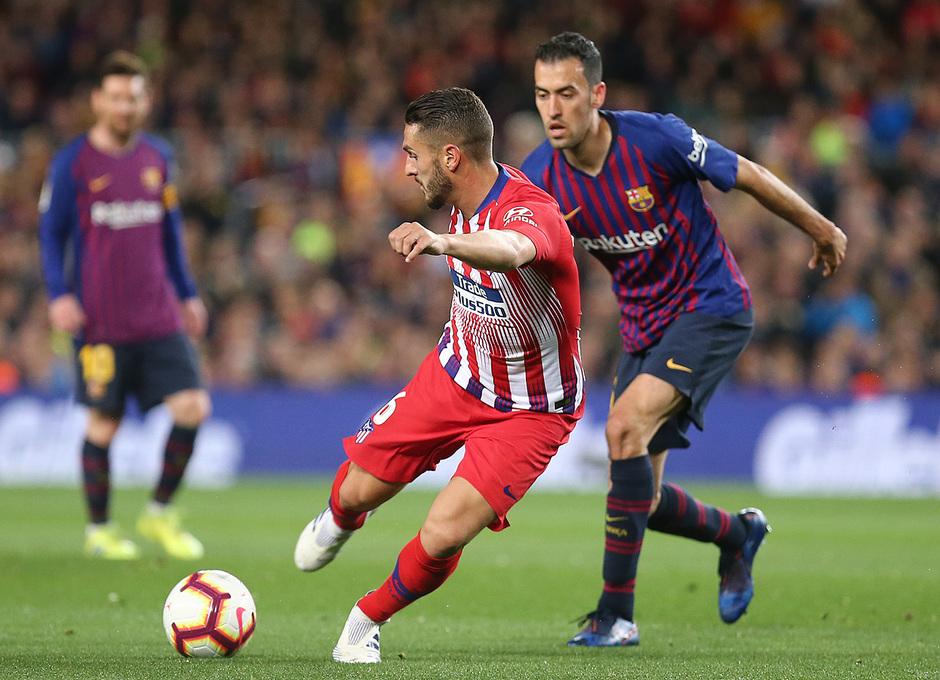 Temp 18/19 | FC Barcelona - Atlético de Madrid | Koke