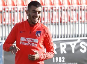 Temporada 18/19 | 08/04/2019 | Entrenamiento del primer equipo | Correa