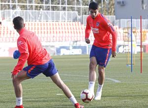 Temporada 18/19 | 08/04/2019 | Entrenamiento del primer equipo | Morata