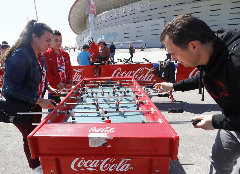 Temporada 18/19 | Atlético de Madrid - Celta | Día del Niño | Fan zone | Futbolín