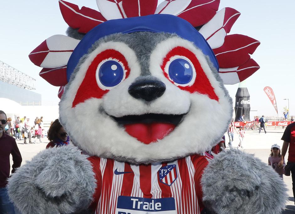 Temporada 18/19 | Atlético de Madrid - Celta | Día del Niño | Fan zone | Indi