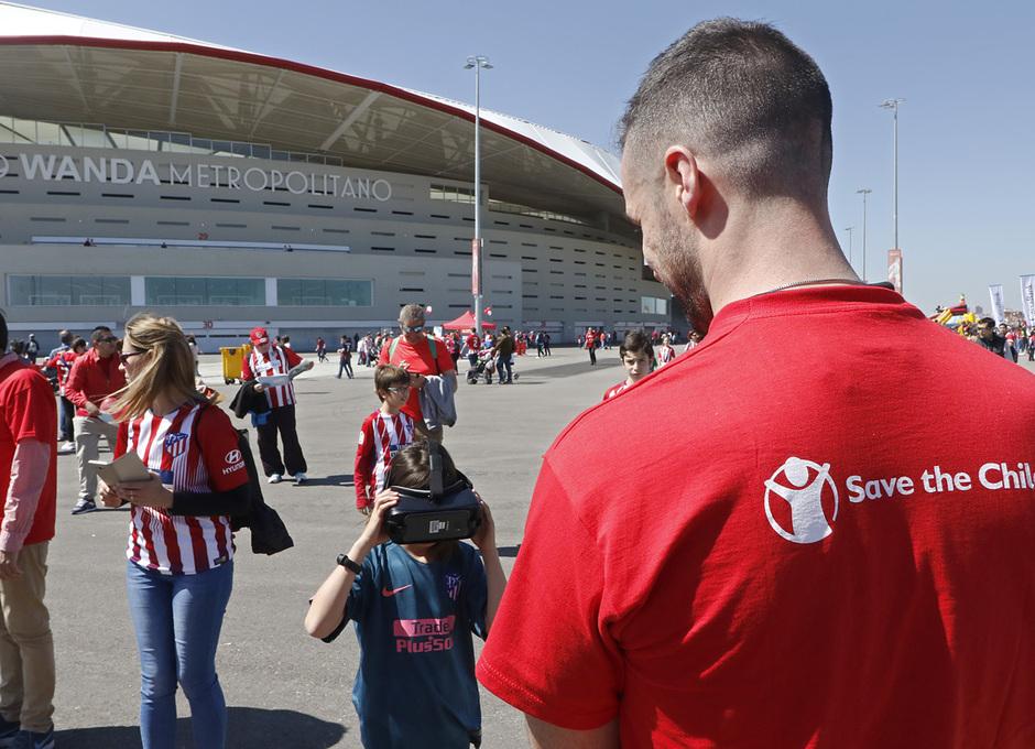 Temporada 18/19 | Atlético de Madrid - Celta | Día del Niño | Fan zone | Save the Children