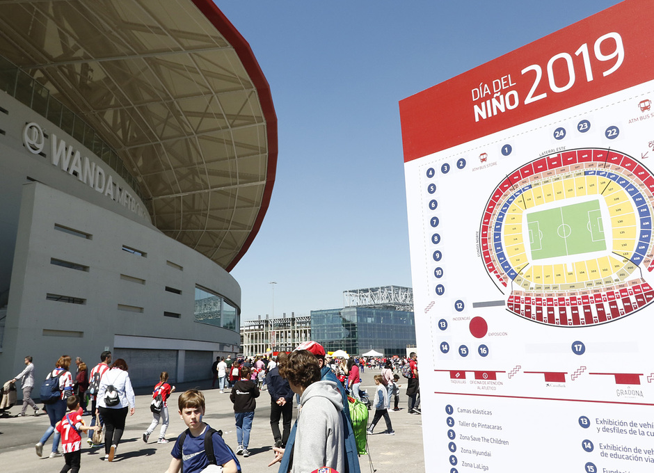 Temporada 18/19 | Atlético de Madrid - Celta | Día del Niño | Fan zone