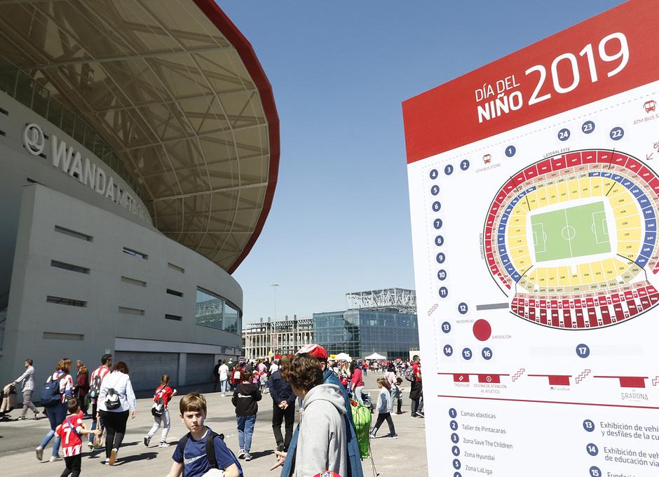 Temporada 18/19 | Atlético de Madrid - Celta | Día del Niño | Fan zone