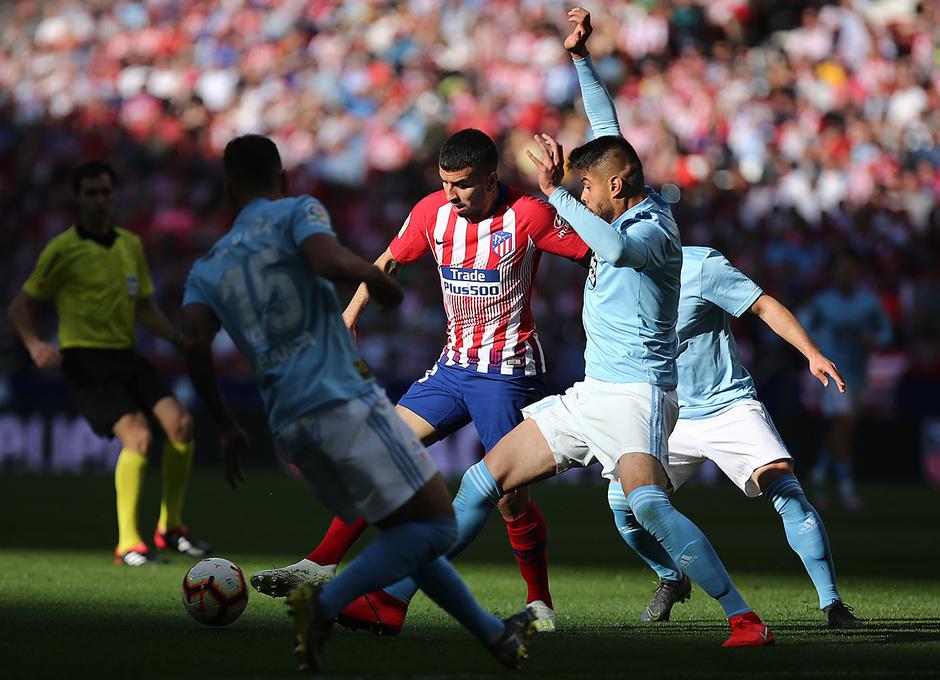 Temporada 18/19 | Atlético de Madrid - Celta | Día del Niño | Correa