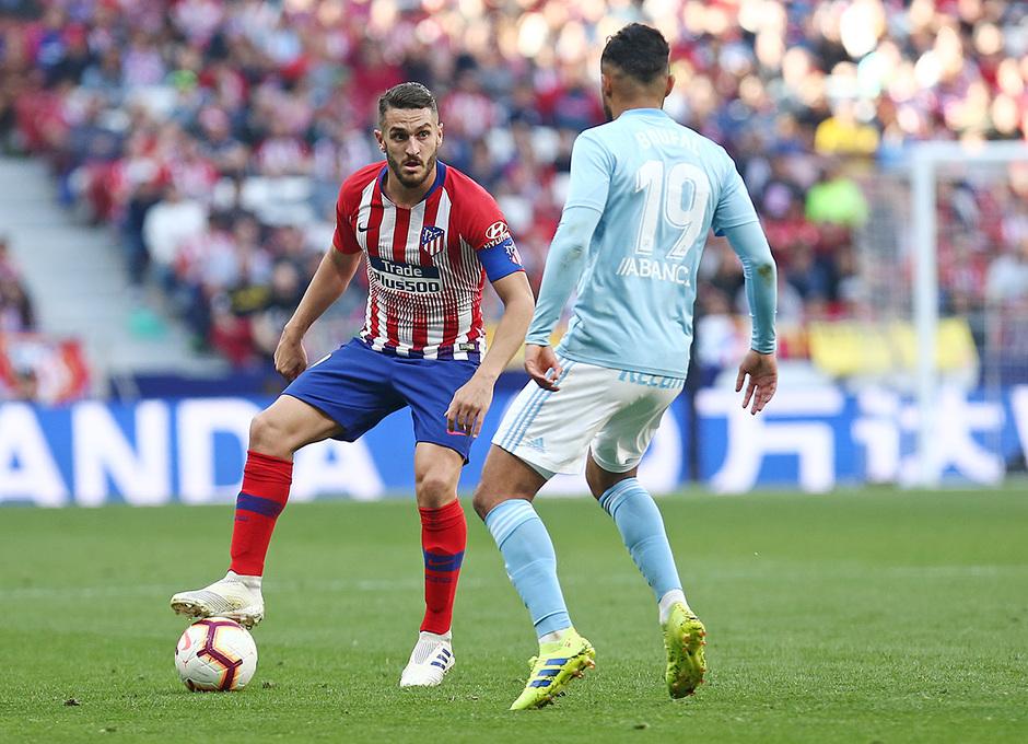 Temporada 18/19 | Atlético de Madrid - Celta | Día del Niño | Koke