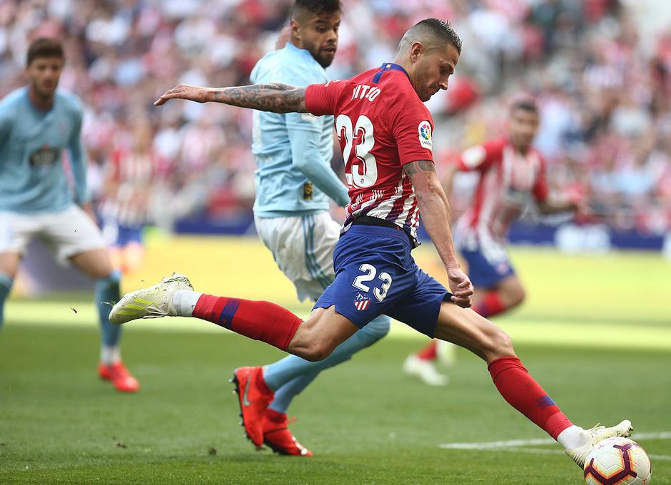 Temporada 18/19 | Atlético de Madrid - Celta | Día del Niño | Vitolo