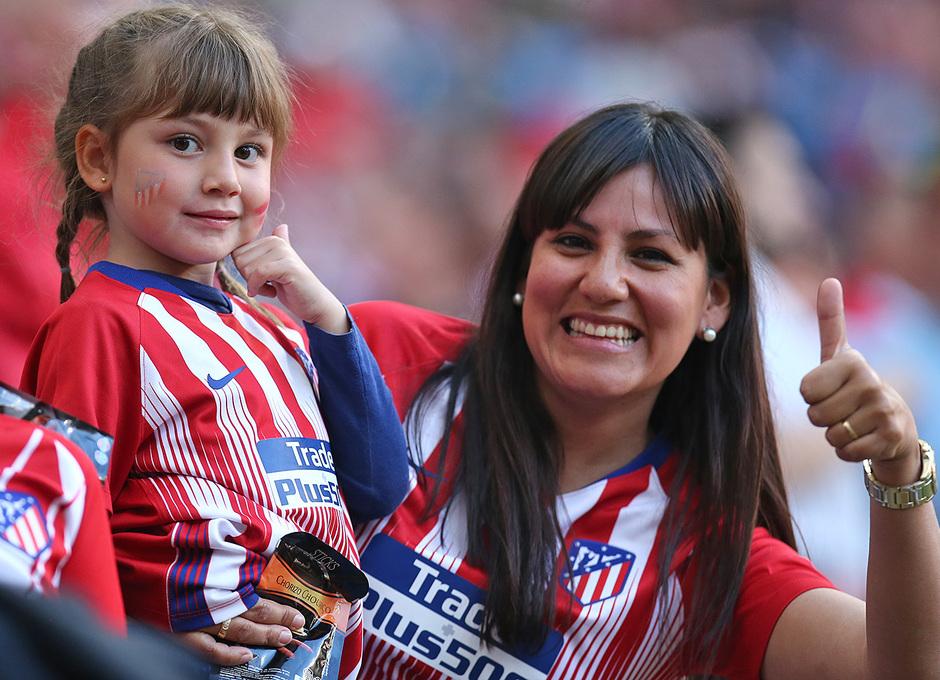 Temporada 18/19 | Atlético de Madrid - Celta | Día del Niño | Afición
