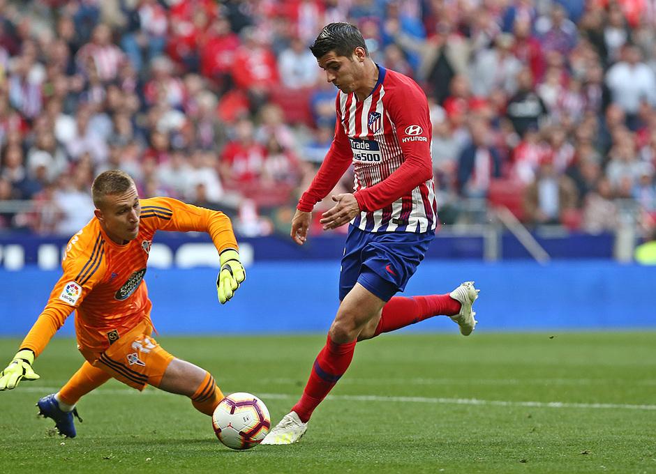 Temporada 18/19 | Atlético de Madrid - Celta | Día del Niño | Morata