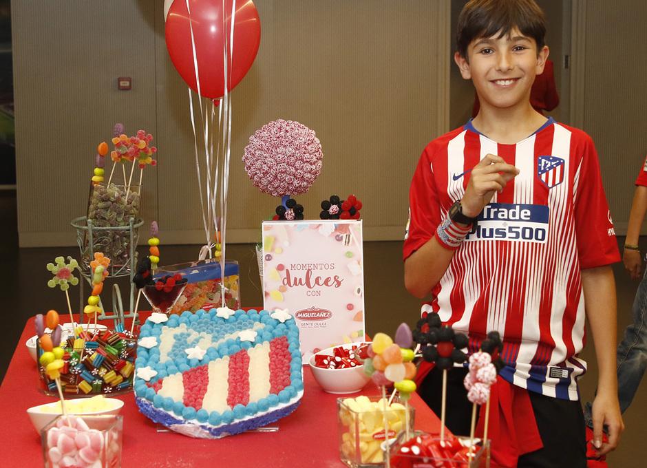Temporada 18/19 | Atlético de Madrid - Celta | Día del Niño | Palco