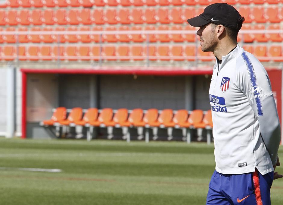 Temporada 18/19 | Entrenamiento del primer equipo | 17/04/2019 | Simeone