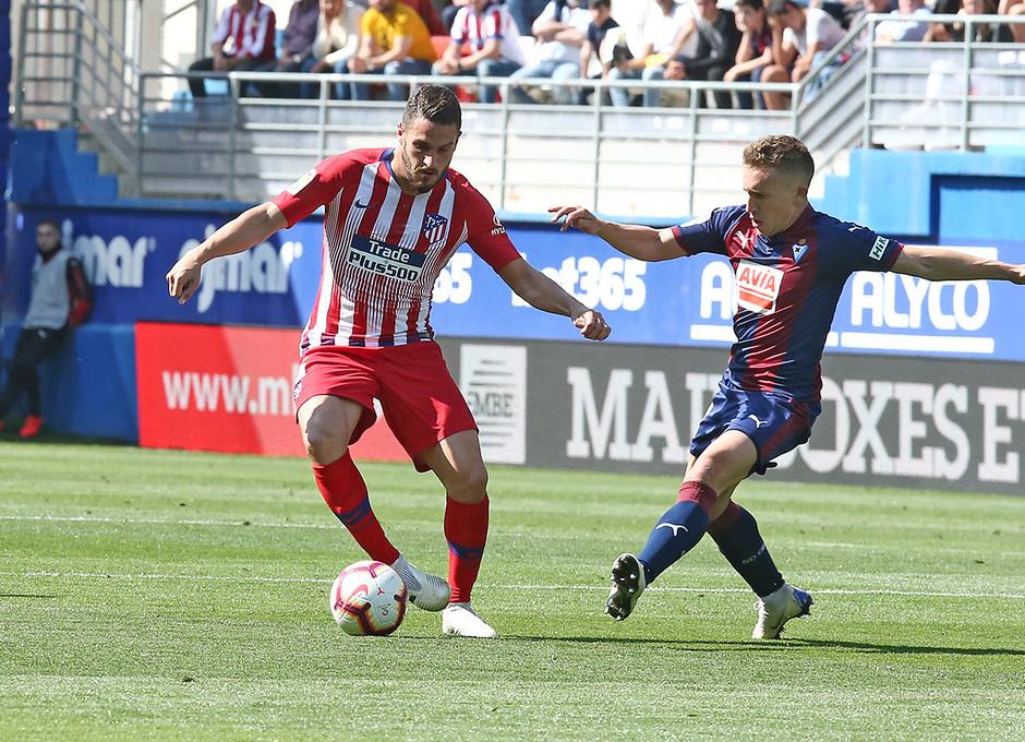 Temporada 18/19 | Eibar - Atlético de Madrid | Koke