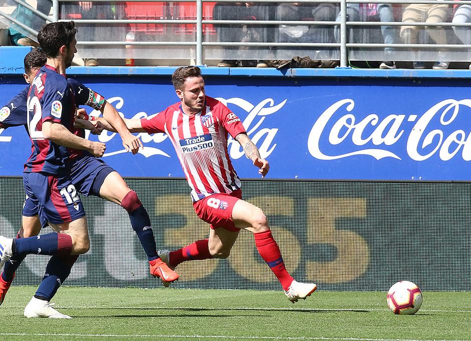 Temporada 18/19 | Eibar - Atlético de Madrid | Saúl