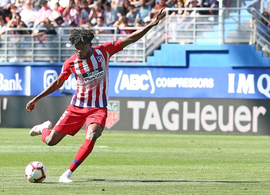 Temporada 18/19   Eibar - Atlético de Madrid   Thomas