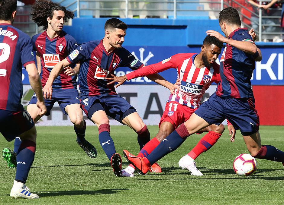 Temporada 18/19   Eibar - Atlético de Madrid   Lemar