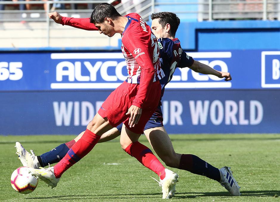 Temporada 18/19 | Eibar - Atlético de Madrid | Morata