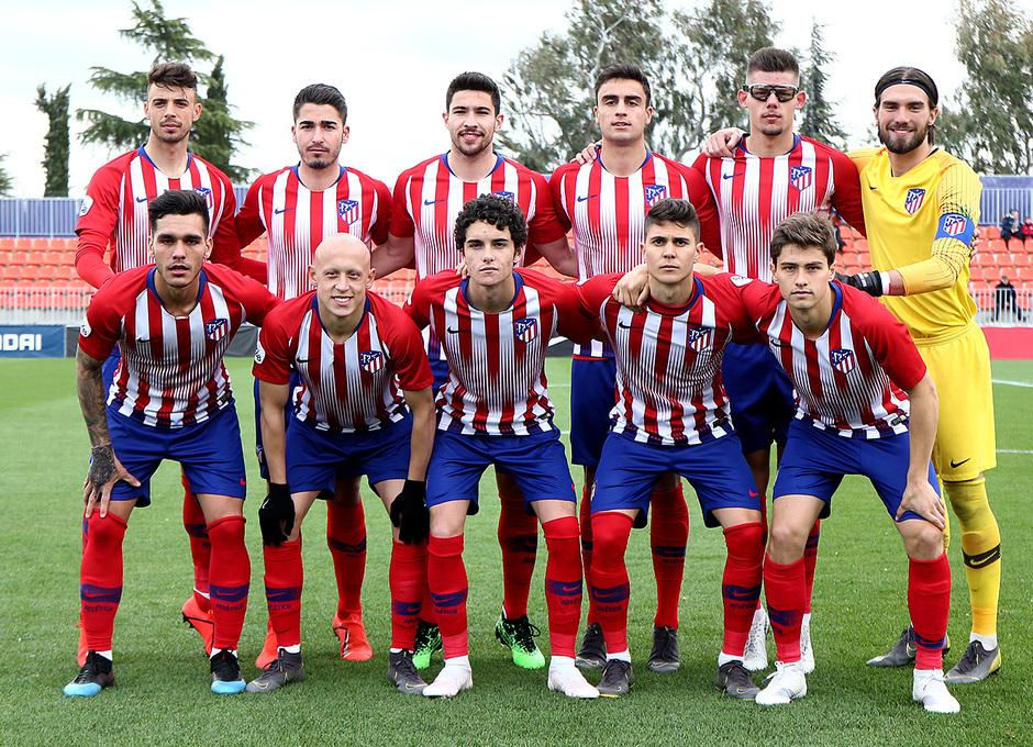 Temp. 18-19 | Atlético de Madrid B - UD Sanse | Once titular