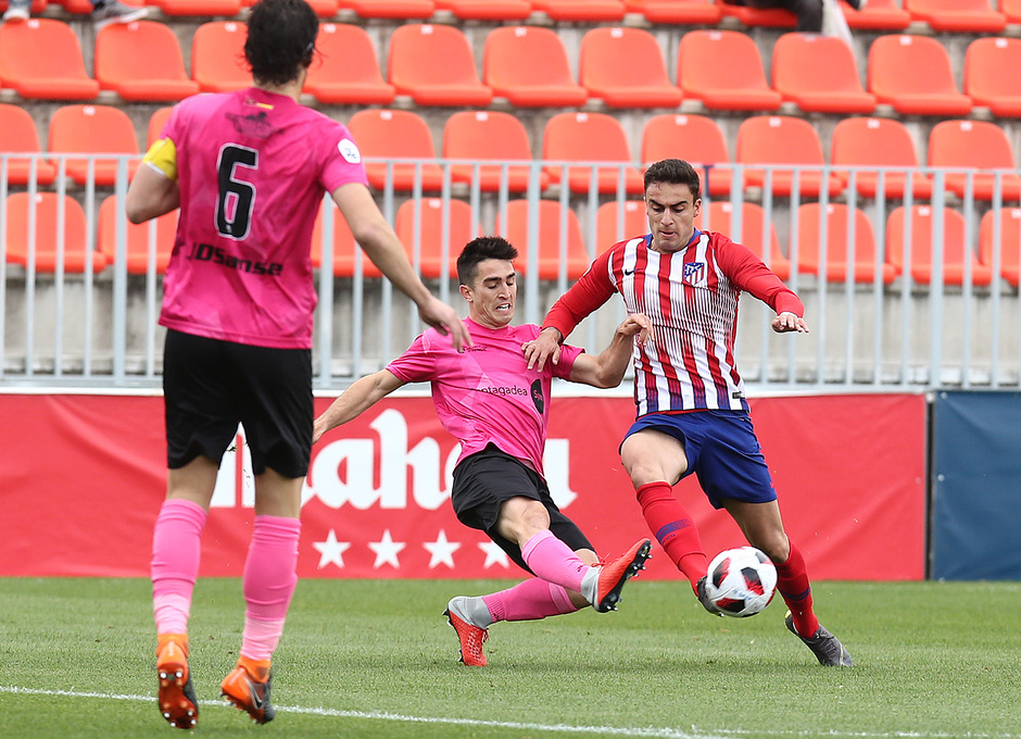 Temp. 18-19 | Atlético de Madrid B - UD Sanse | Carlos Isaac