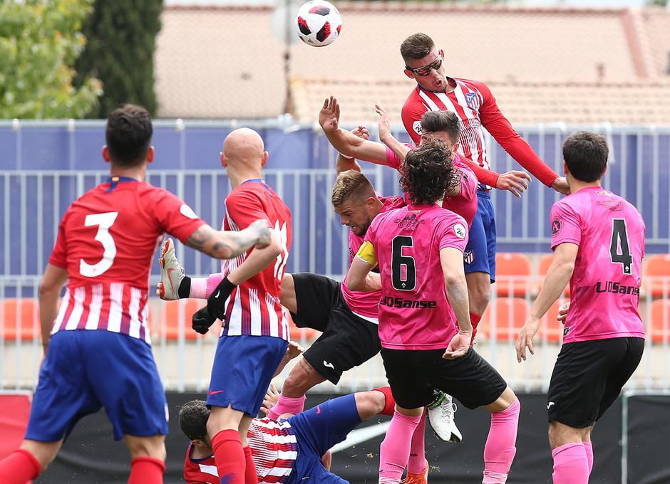 Temp. 18-19 | Atlético de Madrid B - UD Sanse | Montero