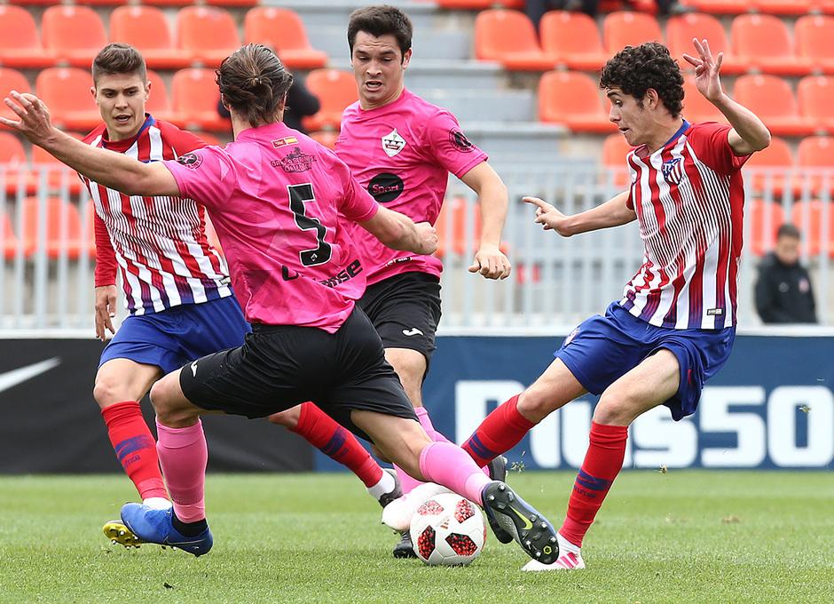 Temp. 18-19 | Atlético de Madrid B - UD Sanse | Camello