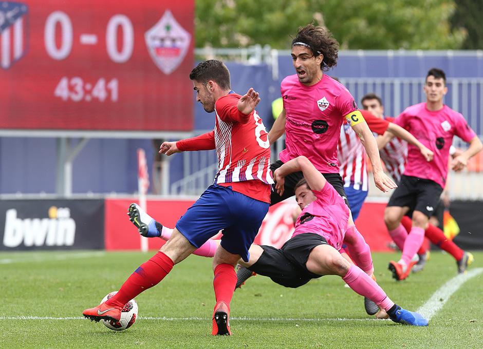 Temp. 18-19 | Atlético de Madrid B - UD Sanse | Toni Moya