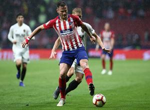 Temp 18/19   Atlético de Madrid - Valencia   Saúl