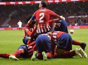 Temporada 18/19 | Atlético de Madrid - Valencia | Piña